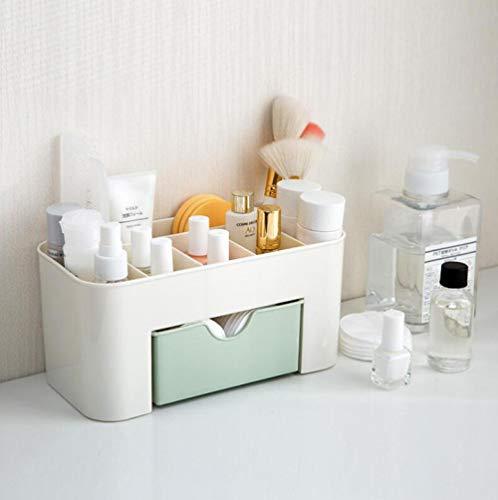 mddiksa Kosmetische Aufbewahrungsbox Schublade Finishing Box Desktop-Schmuck Make-up-Box @C -