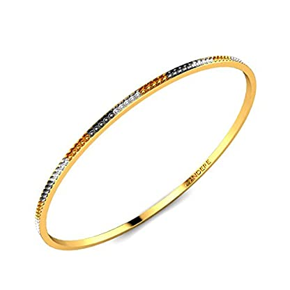 Candere By Kalyan Jewellers Contemporary Collection 22k Yellow Gold Christable Bangle