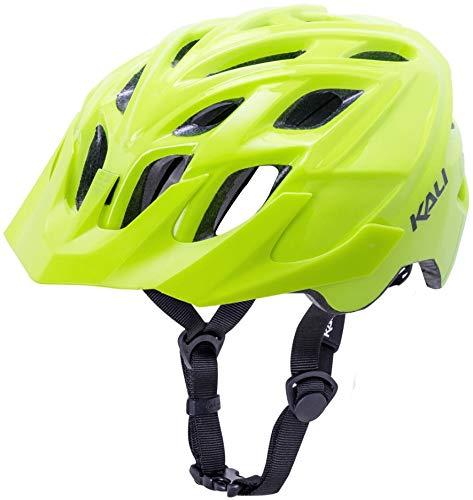 Kali Chakra Solo Helm matt neon gelb Kopfumfang 58-61cm 2019 Fahrradhelm