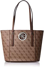 Guess Womens Tote Bag, Brown - SG718622