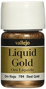 Vallejo 70794, Vallejo oro liquido metalizado, Oro Rojo