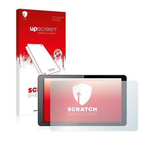 upscreen Scratch Shield Schutzfolie für i.onik Global Tab L1001 - Kristallklar, Kratzschutz, Anti-Fingerprint
