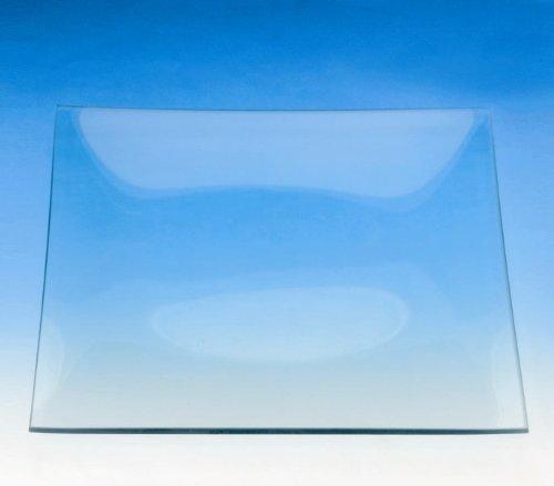 Plaque de verre carré 25 x 25 cm