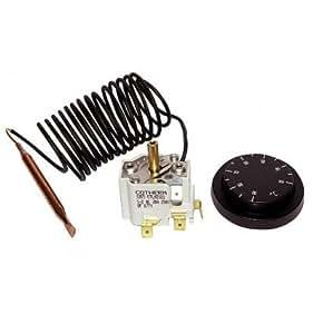 DIFF - Thermostat réglable 30-90°C - DIFF pour De Dietrich : 95365574