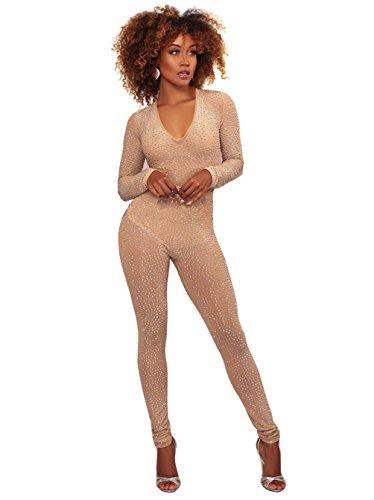 Catsuit Jumpsuits Overall Catwoman Kostüme Latex Wetllook Bodysuit Clubwear kleid,Damen GoGo Overall Sexy Slim Jumpsuit Onesie Langarm Body Metallic Glanz (Spandex-catwoman-kostüm)