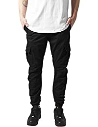 Urban Classics Herren Hose - Cargo Jogging Pants, lange Cargohose eng für Männer und Jungen aus 100% Baumwolle (slim fit - Freizeit, Jogging, Arbeit)