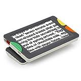 DAMAI Digital Video Magnifier 4.3 Zoll Handportable Mobile Elektronische Lesehilfe Leselupen Für Sehbehinderte, Senioren, Makuladegeneration, Menschen Mit Hoher Kurzsichtigkeit,Grau