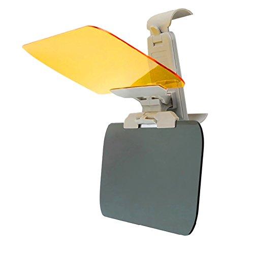 MRSLIU Auto Sonnenblende Verlängerung, 2 In 1 HD Tag Und Nacht Auto Windschutzscheibe Visor Eye Protector Mit Anti-UV