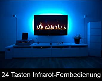 46 zoll tv led hintergrundbeleuchtung 3 seitig 24. Black Bedroom Furniture Sets. Home Design Ideas