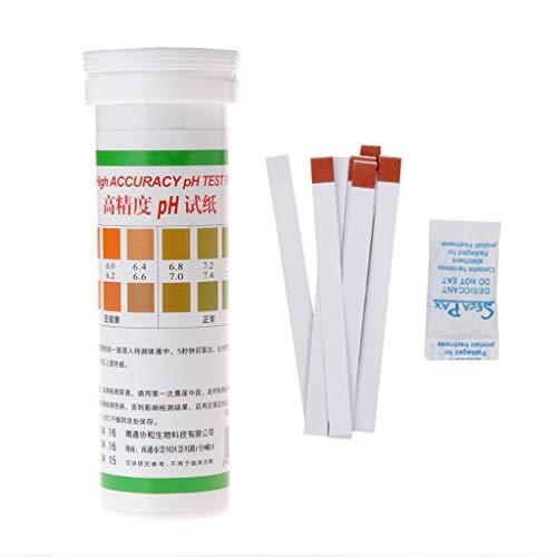 Manyo Test Papier PH Teststreifen für Salzsäure Alkalin Hohe Präzision