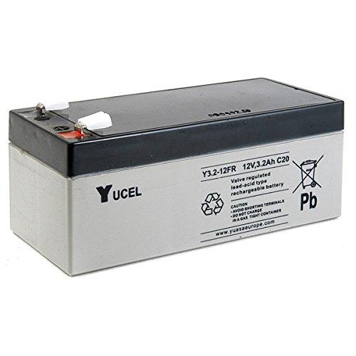 Yucel - Batteria AGM YUCEL Y3.2-12FR 12V 3.2Ah F4.8