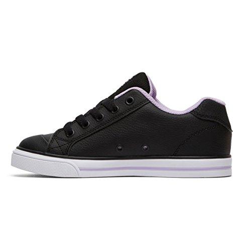 DC Shoes Chelsea - Baskets Pour Fille ADGS300080 Noir - Black/Lavender