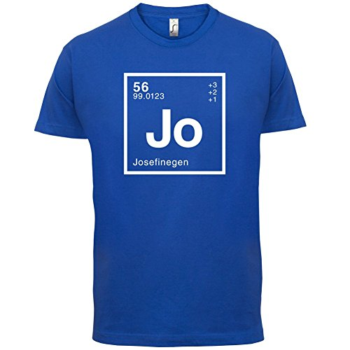 Josefine Periodensystem - Herren T-Shirt - 13 Farben Royalblau