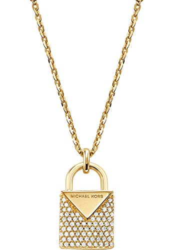 Michael Kors Damen-Halskette mit Anhänger Kors Color MKC1040AN710