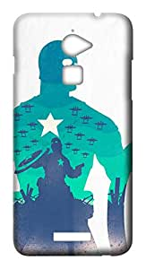 Skin Prints Back Cover for Coolpad Note 3 Lite