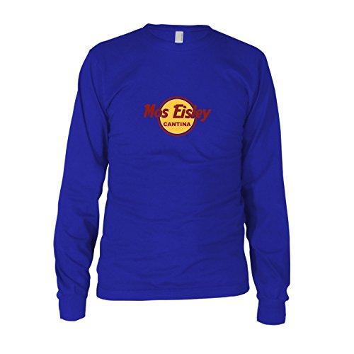 Mos Eisley Cantina - Herren Langarm T-Shirt Blau