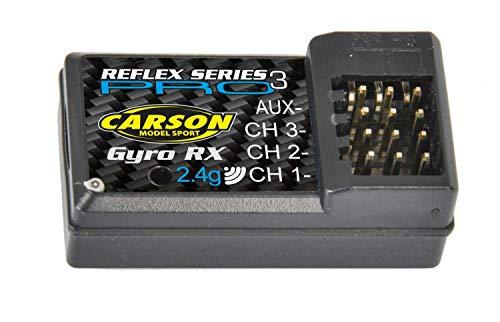Carson 500501539 Empfänger Reflex Pro 3 Nano+Gyro 2.4G