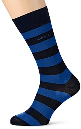 GANT Herren Socken 96009 NAVY BARSTRIPED SOCKS, Gr. One size, Blau (SUMMER SKY)