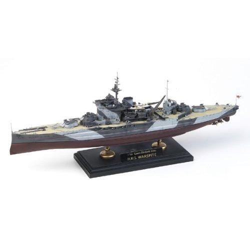 Academy ac14105 - nave da guerra h.m.s. warspite, scala: 1:350