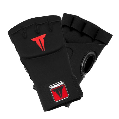 Throwdown Handbandage Gel-Quickwarps, Schwarz, One size, TDGELHW2 (Ufc Gel Wrap)