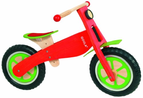 Goula - Bicicleta de madera sin pedales (Diset...