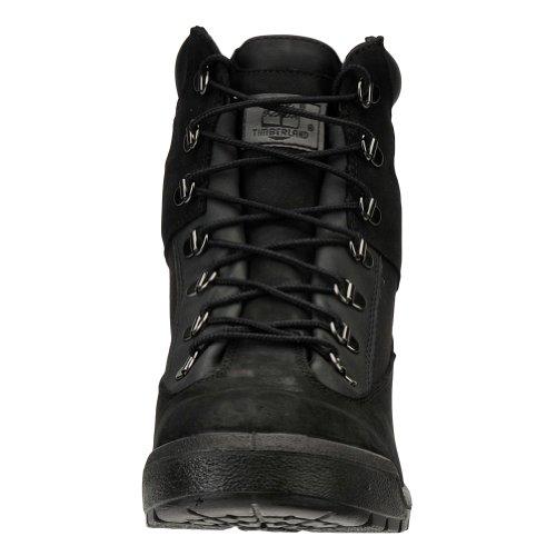 Timberland Hommes de Cordones Cheville Bottes Noir - Noir