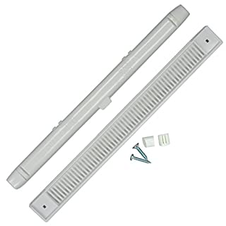 Window 5x Trickle Slot Vent White for UPVC & Timber Windows - 407mm