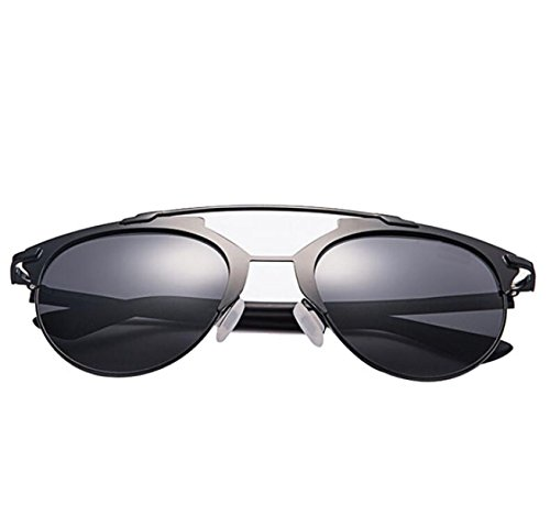 ladies-fashion-metal-frame-galvanized-film-sunglassesblackframe-graylens-148mm