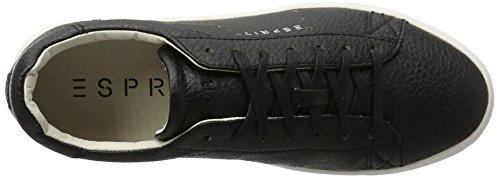 ESPRIT Damen Lizette Lace Up Sneakers Schwarz (001 Black)