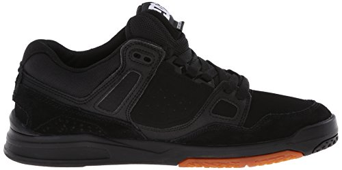 DC Skateboard Shoes STAG 2 WHITE/BLACK/ARMOR Black/Gum