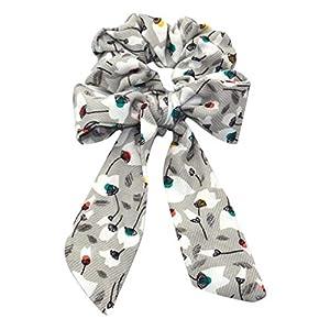 SoundJA Haarband-Stirnband Haarnadel mit Streamer Schleife Haargummis Schachtelhalm Krawatte Farbband für Frauen Damen…