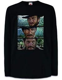 Abbigliamento sportivo Film Choose ur Color Felpa Cappuccio Clint Eastwood Cinema Movie Western Good