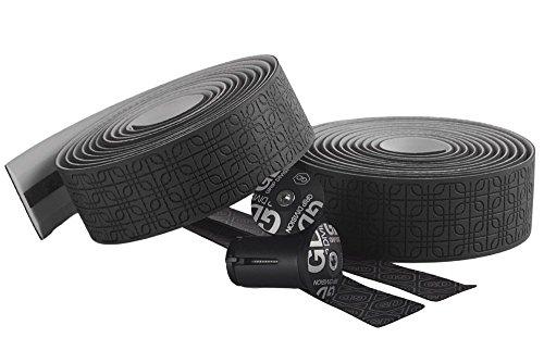 GD Grip Division® reißfestes Mikrofaser Rennrad Lenkerband | sehr weich und griffig | Premium Qualität | schwarz