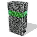 vidaXL Gabionensteine aus Glas Grün 60-120 mm 25 kg Steingabionen mit Dekosteine