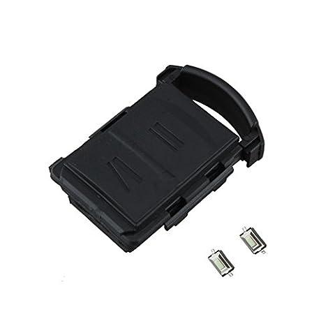 MagiDeal 2 Boutons Coque de Remplacement Réparation Télécommande Voiture Pour Vauxhall Opel Corsa Agila Meriva Combo