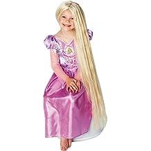 Rapunzel Resplandor en la peluca oscura - Disney - Niños del vestido de lujo peluca - One Size