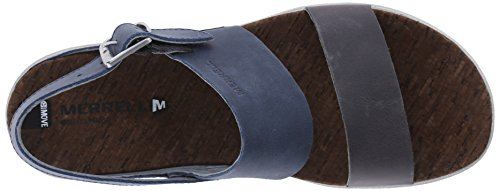 Merrell Around Town Backstrap, Sandales  Bout ouvert femme blue