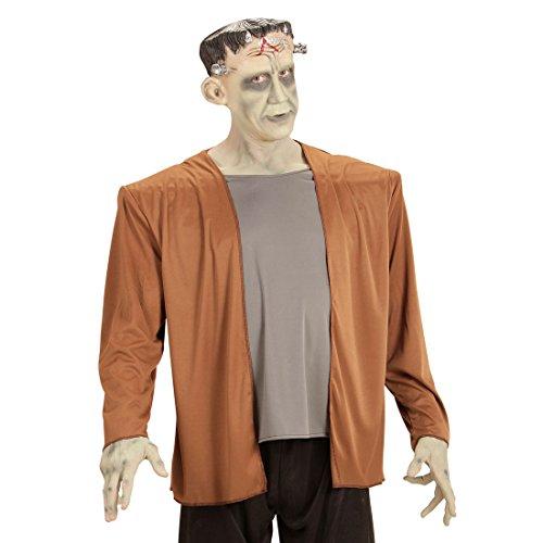 Amakando Monster Halloweenkostüm Frankenstein Kostüm XL 54 Horror Verkleidung Herrenkostüm Halloween Monsterkostüm Erwachsene Addams Family Outfit