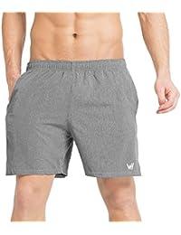 0415d525b7 WHCREAT Pantalones Cortos para Hombre con Diseño de Malla para  Entrenamiento Deportivo en el Gimnasio Ligero