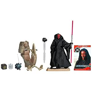 Star Wars - 37743 - Véhicule Miniature - Star Wars Véhicule Class I - Sith Speeder With Darth Maul