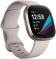 Fitbit Sense - Smartwatch Evoluto con Strumenti per la Salute del Cuore, Gestione dello Stress, Monitoraggio d