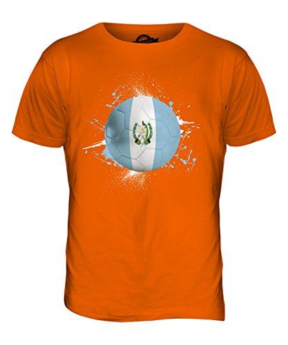 CandyMix Guatemala Fußball Herren T Shirt Orange