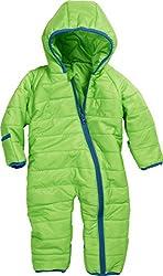 Schnizler Unisex Baby Schneeanzug Stepp - Overall, Gr. 80, Grün (grün 29)