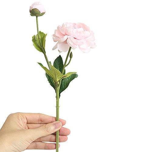SuperSU Wohnaccessoires & Deko Lotus Blumen Kunstblumen Künstliche Seide Kunstblumen,Braut Hochzeit Bouquet Garten Dekor Blumenstrauß Gefälschte Blumen