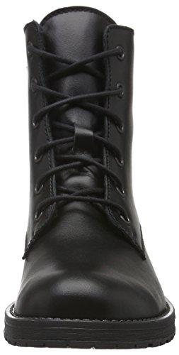 Richter Kinderschuhe Jeky, Bottes courtes avec doublure chaude fille Noir - Schwarz (Black 9900)