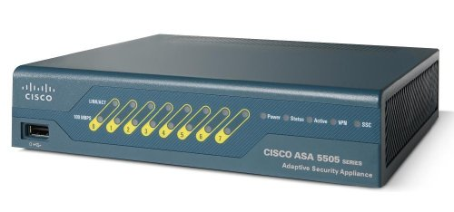Cisco ASA 5505 Firewall Edition Bundle Sicherheitsanwendung (10 Benutzer, Ethernet, Fast Ethernet) extern -