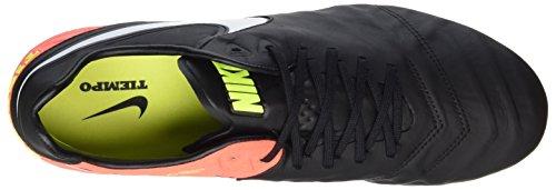 Nike 819177-018, Scarpe da Calcio Uomo Nero (Black/white/hyper Orange/volt)