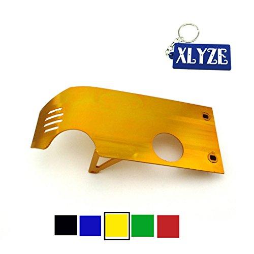 xlyze Engine Protect Displayschutzfolie Abdeckung Skid Plate für Honda XR50CRF50Dirt Pit Bike 50cc 90cc 110cc 125cc 140cc LIFAN YX SSR sr140-tr sr160-tr Thumpstar gold