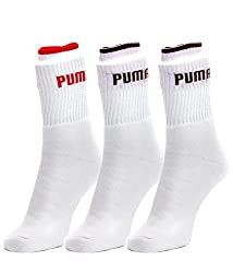 Puma White Socks - Pack of 3