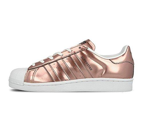 CG3680|adidas Superstar Sneaker Kupfer|44 (Schuhe Kupfer)